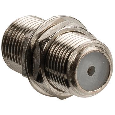 Antennekoppelstuk F -connector female female metaal