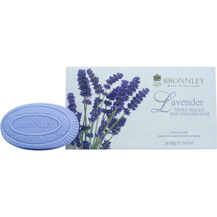 Image of Lavender Zeep, 3x 100 G