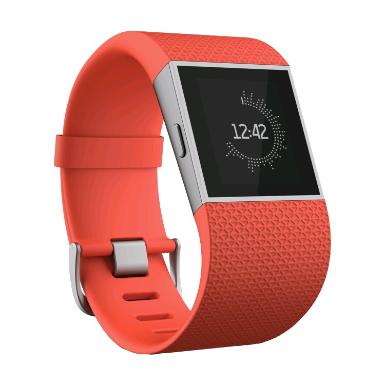 Fitbit Surge activiteitstracker - mandarijn - small