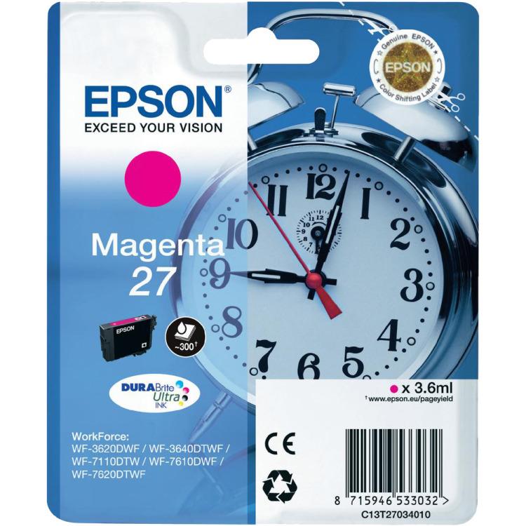 Epson 27 Cartridge Magenta