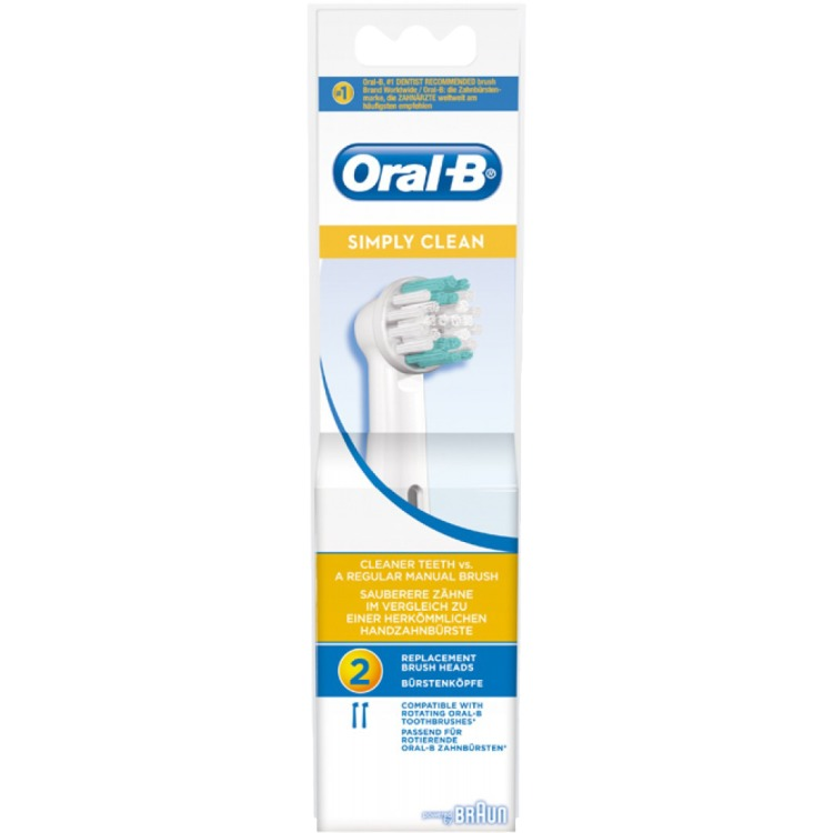 Oral-B Simply Clean opzetborstels