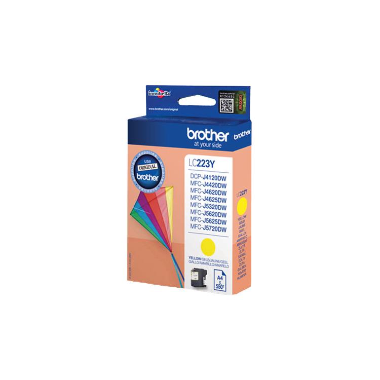 LC-223 inktcartridge geel standard capacity 550 pagina's 1-pack