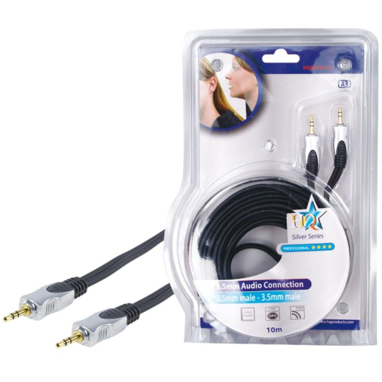 HQ, Hoge Kwaliteit Audio Kabel 10m