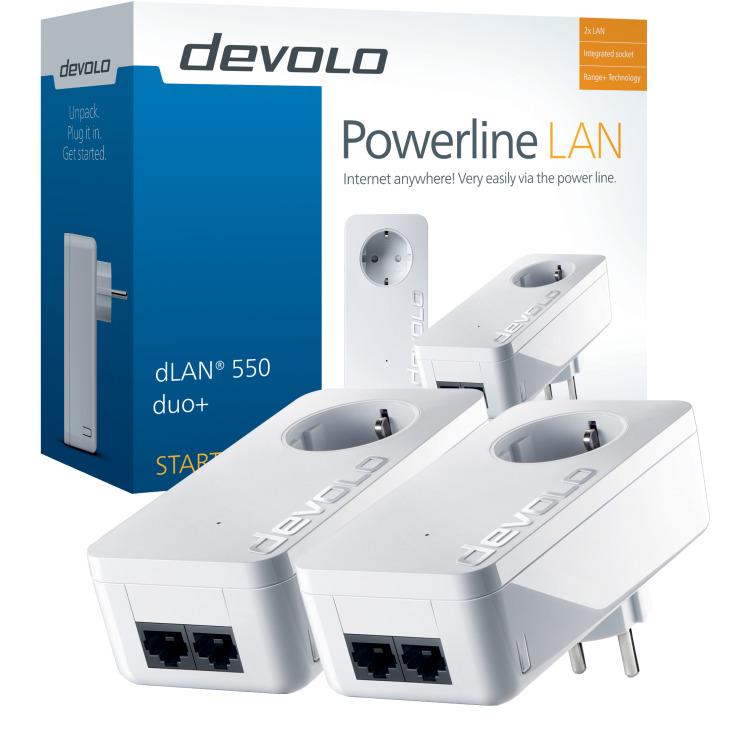dLAN 550 duo+ Starter Kit