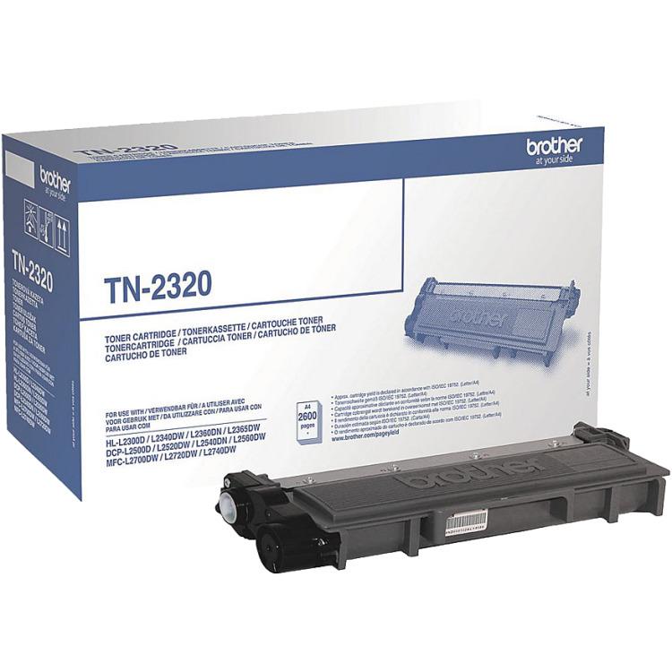 Brother TN-2320 Toner Zwart