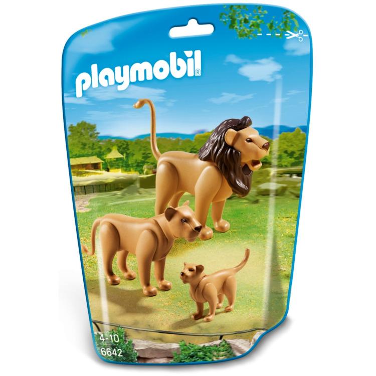 Playmobil City Life Leeuwenfamilie 6642