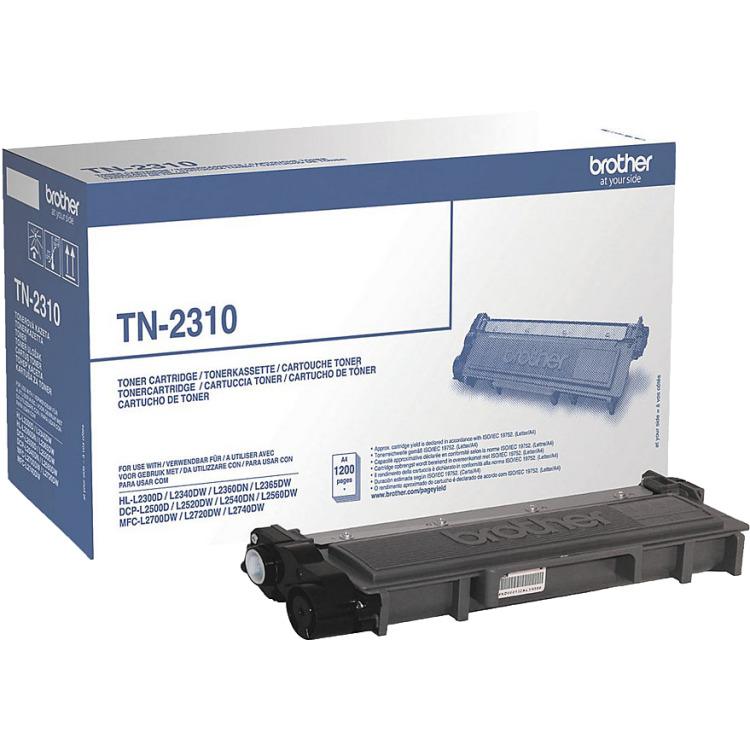 Brother TN-2310 Toner Zwart