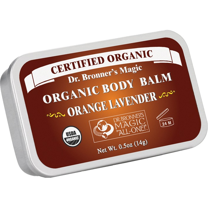 Image of Organic Body Balm Orange Lavender (14 G)