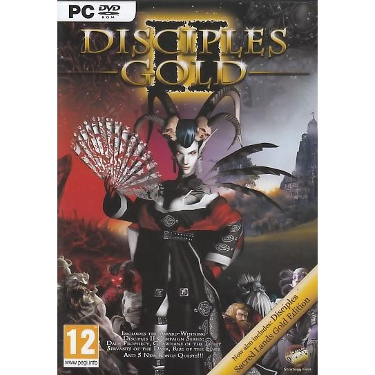 Disciples Gold 1 + 2 + Add-Ons