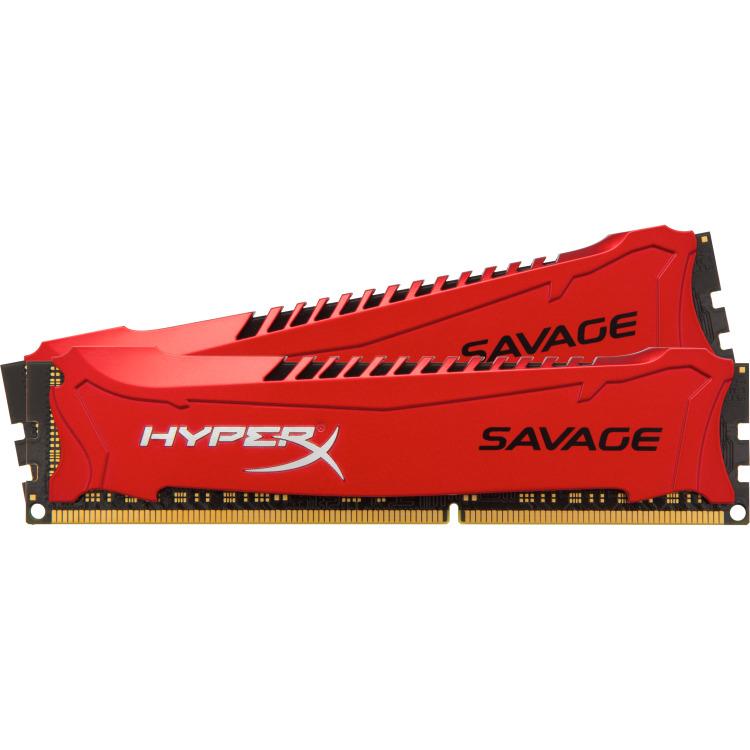 Kingston HyperX Savage 16 GB DIMM DDR3-1866 Kit van 2