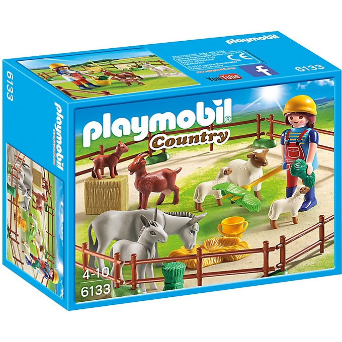 Playmobil Country dierenweide 6133