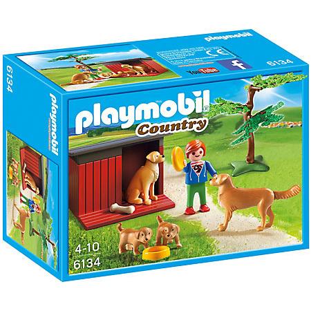 Playmobil Country Golden Retriever met pup 6134