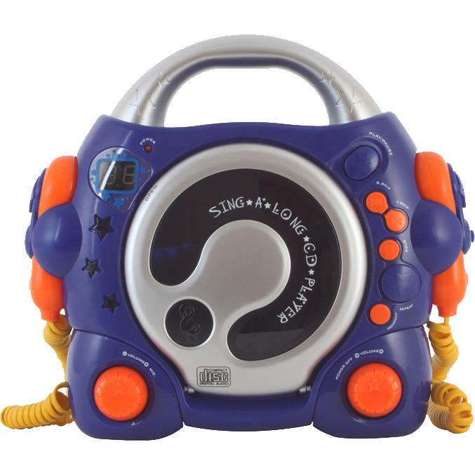 Bigben Karaoke cd-speler Blauw