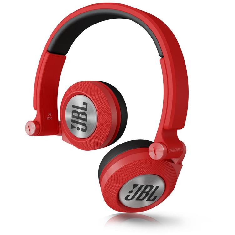 JBL E30RED Hoofdtelefoon