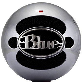 Image of Blue Microphones Snowball Brushed aluminium USB-studiomicrofoon Kabelgebonden Incl. kabel, Voet