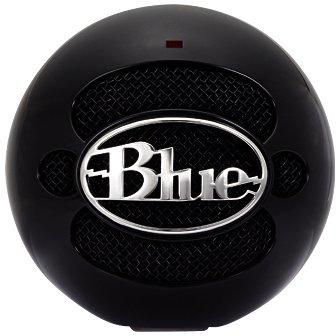 Image of Blue Microphones Snowball Gloss Black USB-microfoon USB-studiomicrofoon Kabelgebonden Voet, Incl. kabel