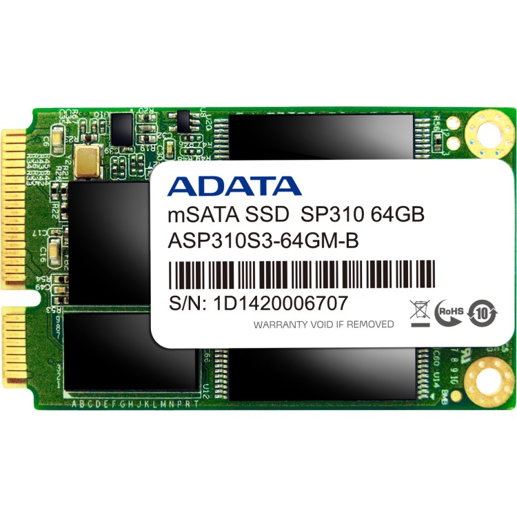 SSD   64GB 180/410 SP310         mSA ADA