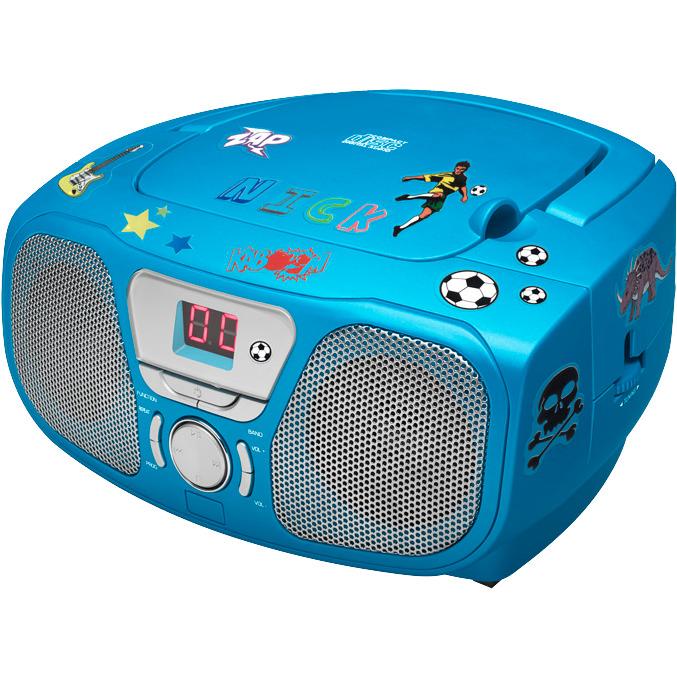 Image of Bigben Draagbare Radio/CD-speler Blauw