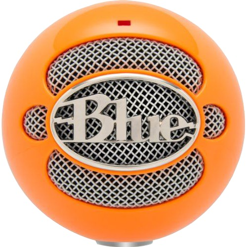 Image of Blue Snowball Neon Orange