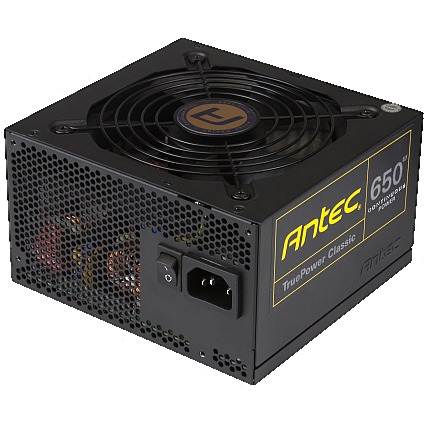 Antec TruePower Classic TP-650C - Power supply ( internal ) - ATX12V 2.4/ EPS12V 2.92 - 80 PLUS Gold - AC 100-240 V - 650 Watt