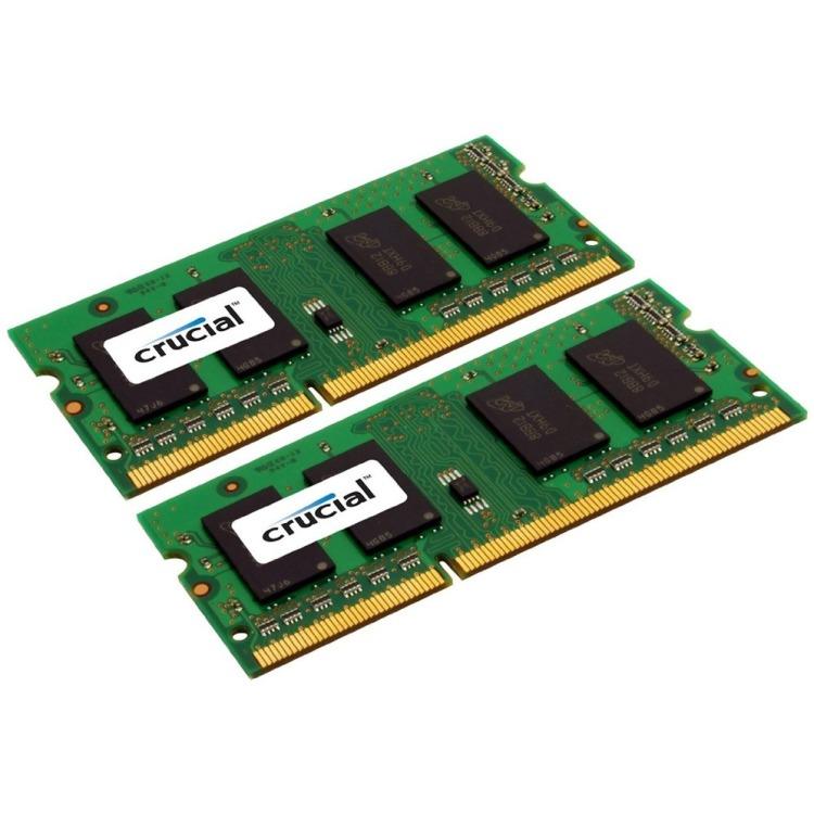 Image of 8GB Kit (4GBx2) DDR3 1066 MT/s (PC3-8500) CL7 SODIMM 204pin For Mac CT2C4G3S1067MCEU