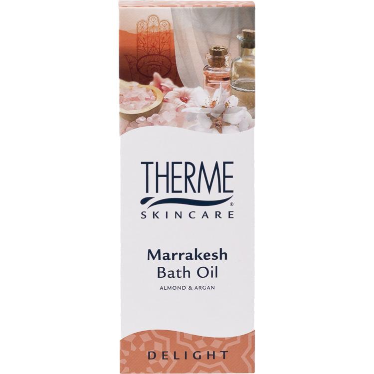 Image of Marrakesh Almond & Argan Bath Oil, 100 Ml
