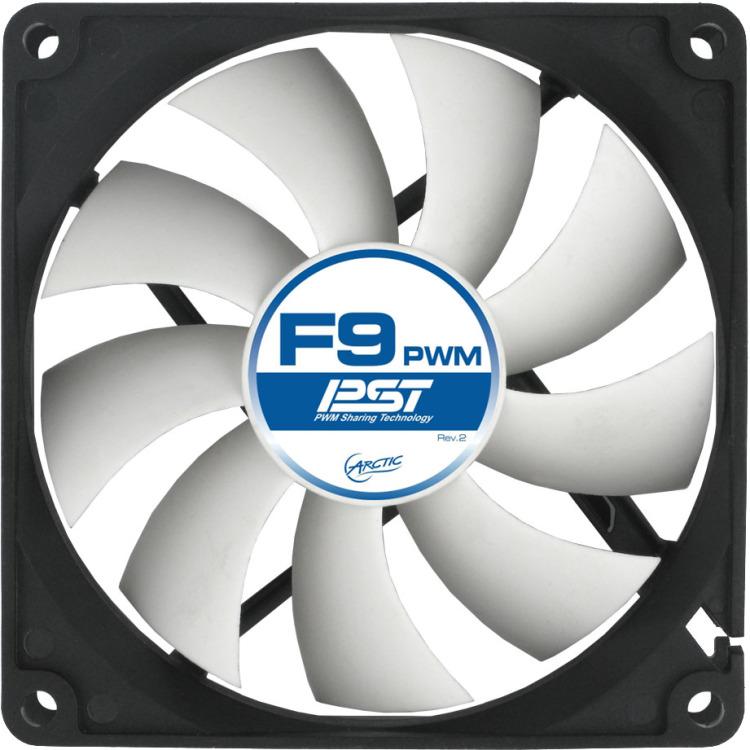 Image of Arctic F9 PWM PST PC ventilator (b x h x d) 92 x 92 x 25 mm