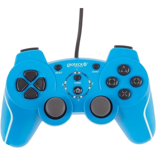 Gioteck VX-2 Wired Rumble Controller - Blauw (PS3)