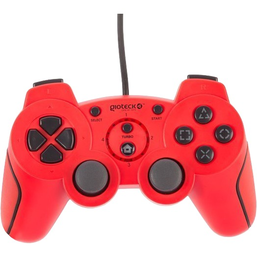 Gioteck VX-2 Wired Rumble Controller - Rood (PS3)