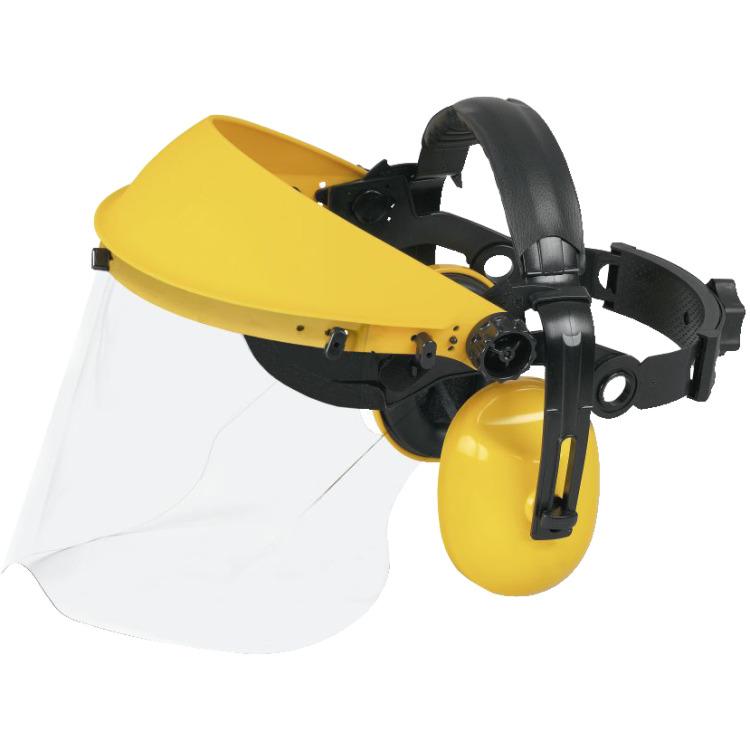 Image of PRO 004 Gehoorbescherming Met Plexiglasg