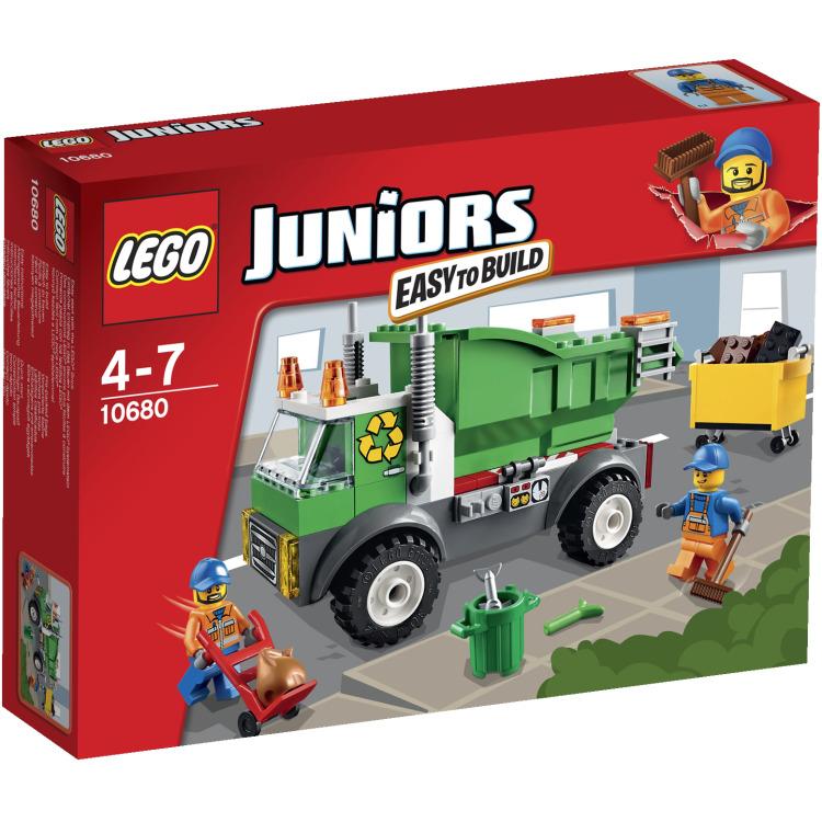 LEGO Juniors vuilniswagen 10680