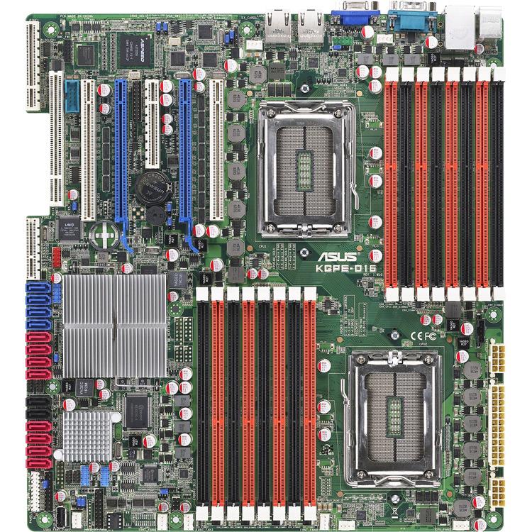 Asus server/werkstation moederborden KGPE-D16