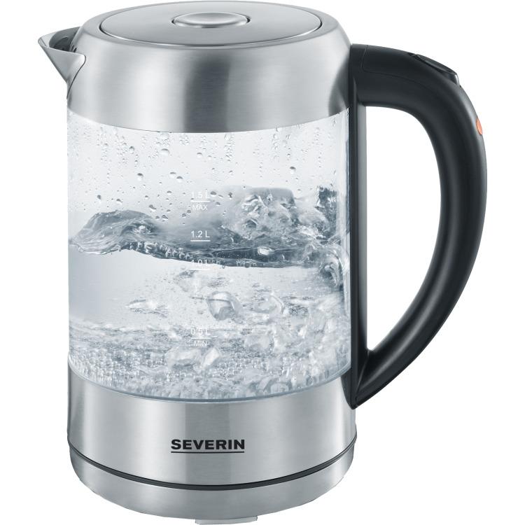 Waterkoker 2200W 1,5L in Glas