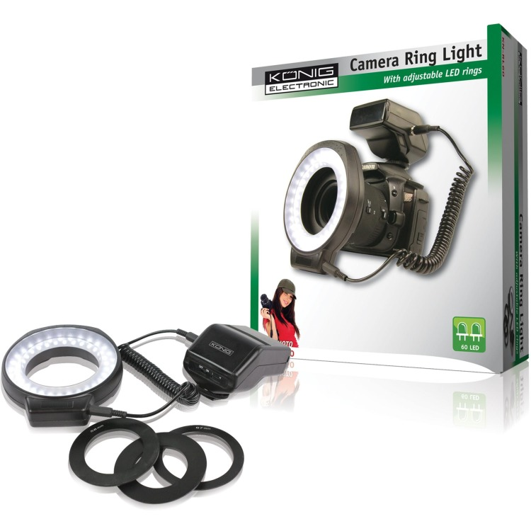 König, Ringlamp voor Camera 60 LED