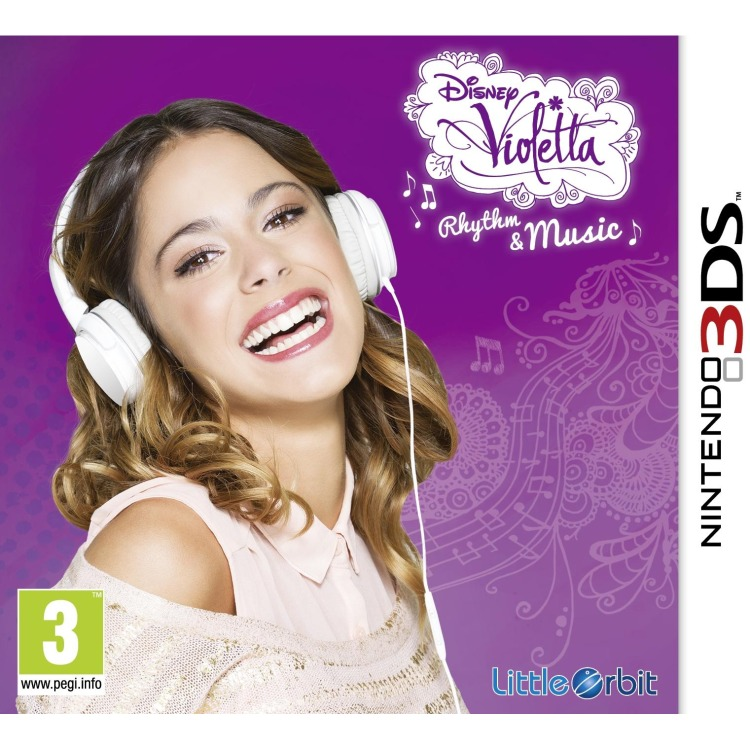 3DS Violetta Rhythm & Music