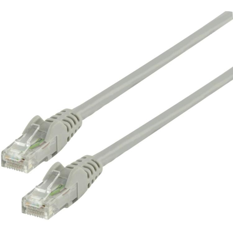 UTP CAT 6 netwerk kabel 0,50 m grijs