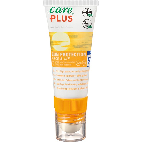 Care Plus Sun Protection Face And Lip Factor(spf)50 4,8gram