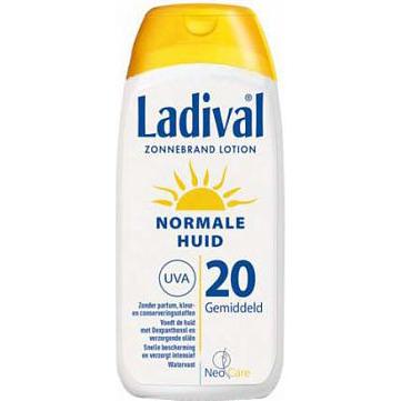 Ladival Zonnebrandcrème Ladival Sun Lotion Normale Huid Factor(spf) 20