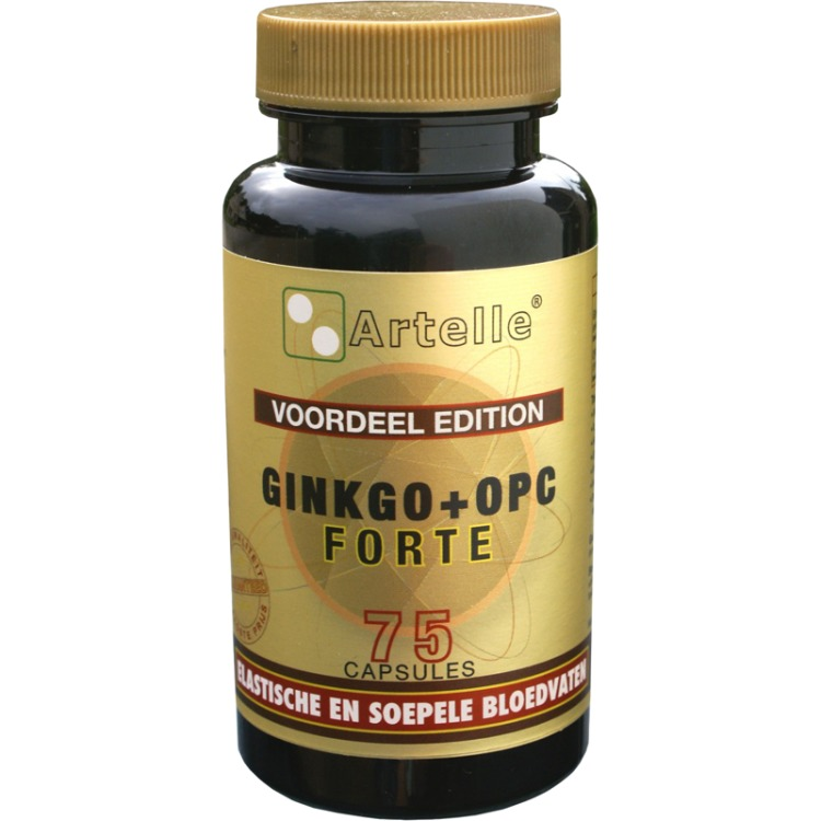 Image of Ginkgo + OPC Forte, 75 Capsules