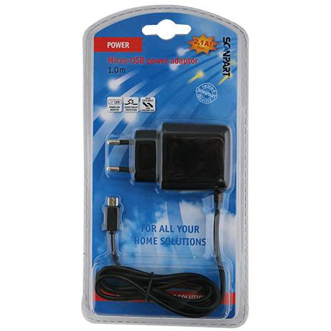 Usb 220v Adap. Micro Usb 2.1a