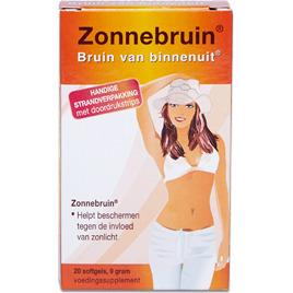 Parmalux Zonnebruin Capsules - 20 st