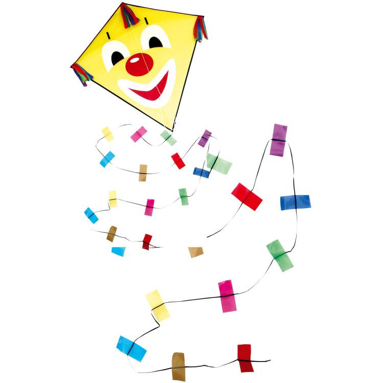 Rhombus vlieger clown M