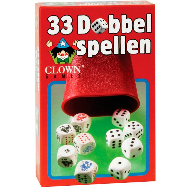Image of 33 Dobbelspellen