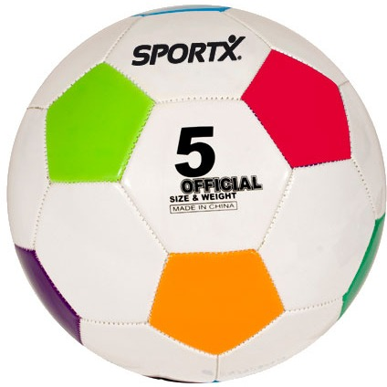 SportX voetbal Multi Color