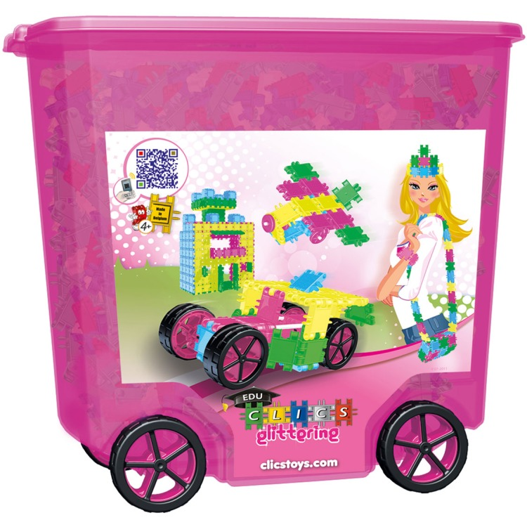 Image of Clics Glitter Rolbox 800st.