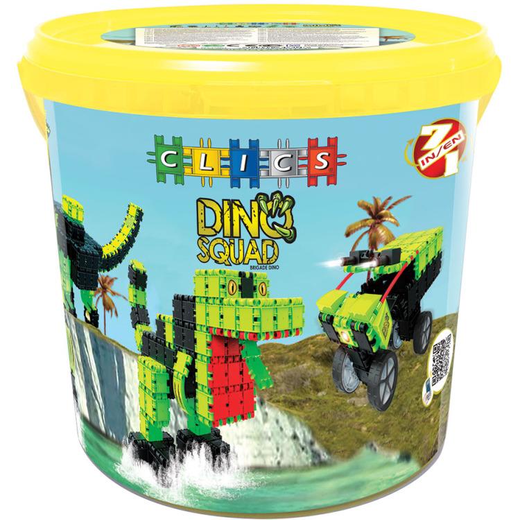 Image of Clics Dino Drum , 7 constructies