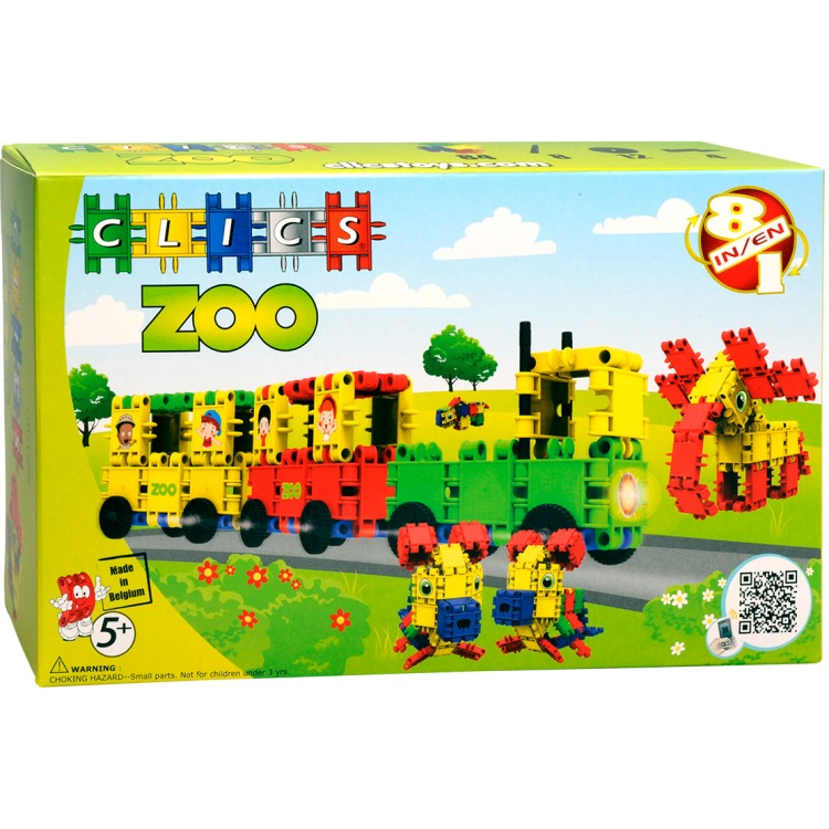Image of Clics Box Zoo 108 Teile