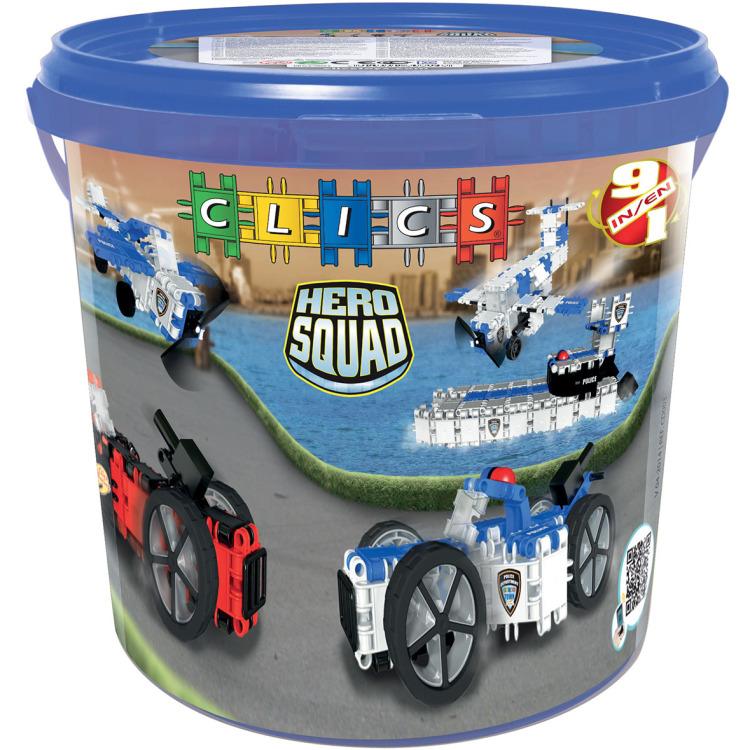 Image of Clics Hero Squad Box - Politie