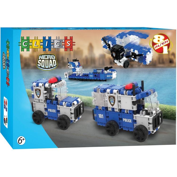 Image of Clics Hero Squad - Politie