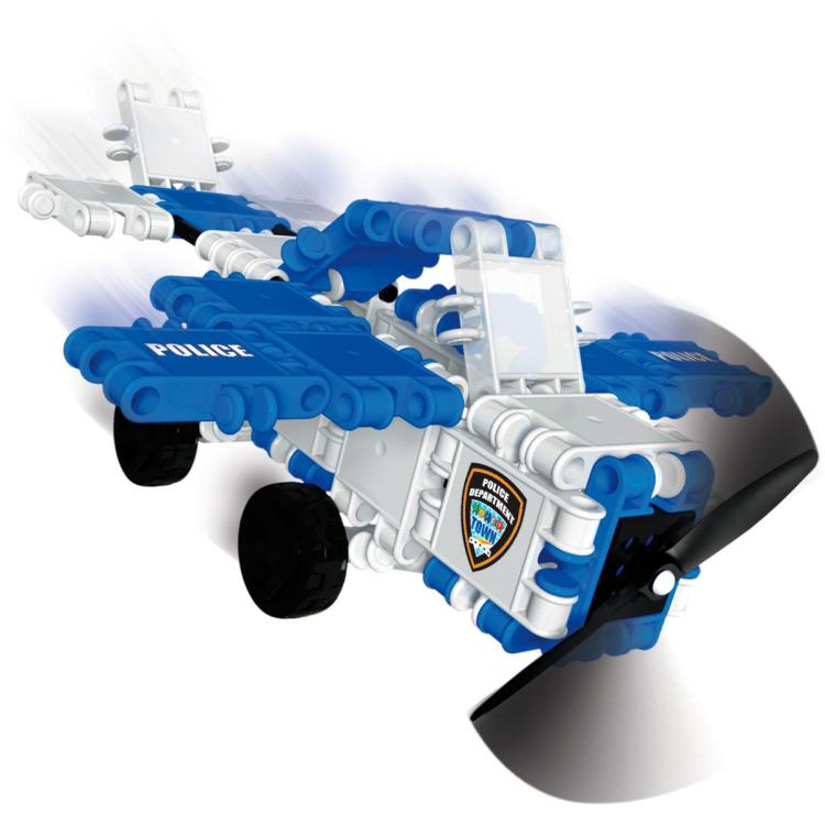 Clics Hero Squad Politie 3 in 1